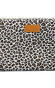 "11.6"" 12.1"" 13.3"" Canvas Leopard Laptop Cover Shakeproof Case for MacBook DELL ThinkPad SONY HP SAMSUNG"