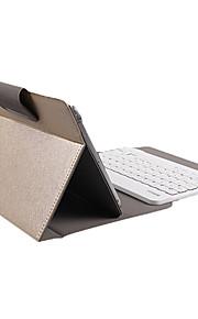 universele 8 inch gouden kast met witte bluetooth toetsenbord voor talbet pc