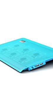 superpag® Laptop Kühler mit übergroßen Lüfter für 12 bis 15,6-Zoll-Laptop