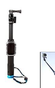 pannovo 28 'optrækkelig monopod håndholdt greb m / fjernbetjening boks til gopor hero 2/3/3 + / 4 kontrol