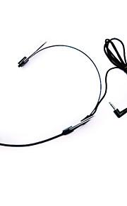 newonline ører hængende mikrofon sort