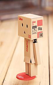 8cm lysende danboard Danbo dukke papirmodel tegneserie legetøj