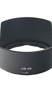 dengpin® hb-69 vendbar modlysblænde til Nikon D3200 d3300 D5200 D5300 AF-S DX NIKKOR 18-55 mm f / 3.5-5.6G VR II linse