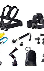 Gopro AccessoriesMount/Holder / Monopod / Tripod / Straps / Gopro Case/Bags / Screw / Suction / Hand Grips/Finger Grooves / Head Straps /