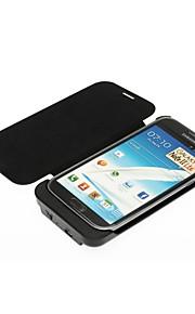 3600 mah di sostegno esterna caso caricabatterie per Samsung Galaxy Note II - nero