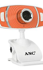 Aoni 12-Megapixel-Mini-Webcam mit integriertem Mikrofon