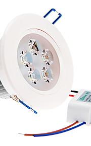 ZDM ™ 5W 5 høy effekt ledet 350 lm varm hvit / kaldhvit / naturlig hvit ledet taklamper ac 220-240 v