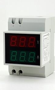"""0.55"""" 6-digit LED Digital Current / Voltage Measuring Ammeter / Voltmeter"""