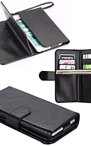 "5.5 "" High Grade Wallet Pattern PU Leather Cover for iPhone 6/6 Plus(Assorted Colors)"