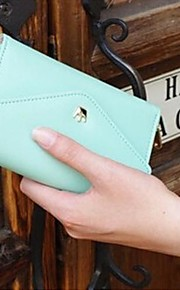 High Quality Wallet Purse for iPhone and Samsung (Assorted Color)
