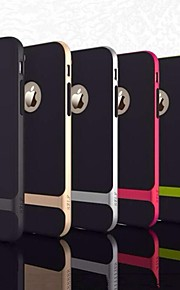silikon frame fall ultratunn humla skal för iphone 6 (blandade färger)
