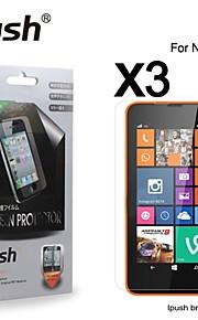 노키아 635에 대한 높은 투명성 HD LCD 화면 보호기 (3 개)