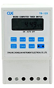 """TB-125 1.8"""" LCD Micro Computer Time Switch (220V)"""
