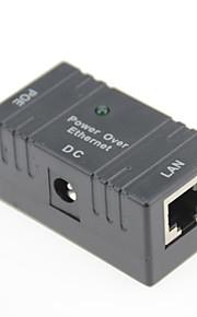 poe power injector sobre o interruptor poe001 adaptador Ethernet para adaptador de câmera poe