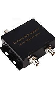 SDI Splitter HDMI switcher entrada SDI 1 2 SDI saída 3G HD SD-SDI extender amplificador repetidor