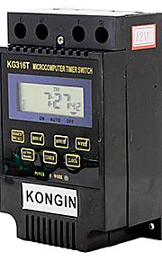 KG316T 2'' LCD Micro Computer Time Switch (AC/DC 12V)