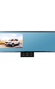 4.3inch Blue Glasses Hidden Key-press Full HD 1080P Car Rearview Mirror Camera DVR with Wid Angle