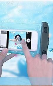 pvc vanntett pose 15m undervanns telefon pose med armbindet snoren for iphone 4 / 4s / 5 / 5s / 5c / 6/6 pluss og andre