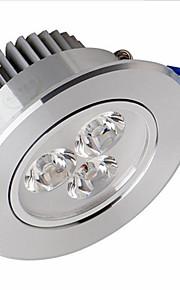 6w ledet taklamper innfelt ettermontering 6 smd 2835 500-550 lm varm hvit dimmes ac 110-130 v
