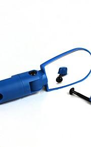 Universal Adjustable Bike Bicycle Rearview Mirror - Deep Blue