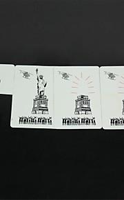 a Estátua da Liberdade desaparecer adereços mágicos - branco + preto