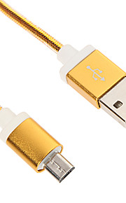 Micro USB Aluminium Charger Cable