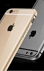 ultratunna metall stötfångaren fallet för iphone 6 (blandade färger)