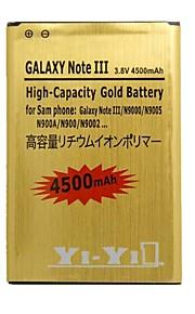 yi-yi ™ vervanging 4500mAh 3.8V Li-ion batterij voor Samsung Galaxy Note 3 / N9000 / n9005 / n900a / n9002
