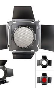 sn-12 honeycomb cover metal Barndoor farve filter kits til 230mm Elinchrom standard reflektor hætte