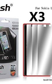 노키아 루미아에 대한 높은 투명성 미러 LCD 화면 보호기 720 (3 개)