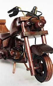 modelo de moto de madeira mini carros mobiliário doméstico criativo decoração do presente