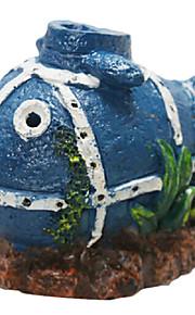 Aquário Decoração - de Silicone - Para Peixe