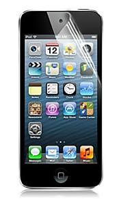 wysoka przezroczystość lcd krystalicznie czysta Screen Protector z ściereczka do czyszczenia iPod touch 5