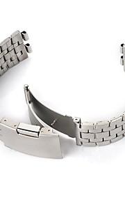 banda de aço inoxidável resistente aço legal para aço seixo relógios inteligentes