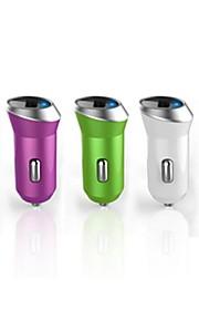 mini caricatore 2.4 un'auto usb portatile per dispositivi iPhone e altri