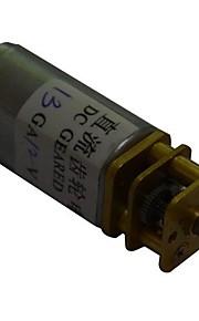 30rpm 13ga 12v 3 milímetros eixo mini-dc motor caixa de engrenagem voltada para o carro inteligente