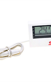 "Digital 1.5"" LCD Thermometer with Probe (1 x AG3)"