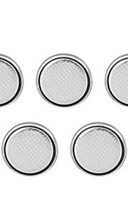 ssuo CR1220 3V lithium cel knop batterijen (5 stuks)