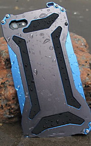 cool metal transformator vattentät och dammtät och anti skrapa tillbaka fallet för iphone 6 (blandade färger)