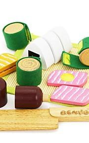 benho gummi træ japansk mad sæt træ rollespil legetøj