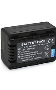 VW-VBK180 - Li-ion - Batterij - voorfor Panasonic HDC-TM9 SD90 HS80 TM80 SD80 TM4 TM40 SD40 HS60 SD60 SDX1 TM55 TM60 SDR-H100 T70 S70 H85