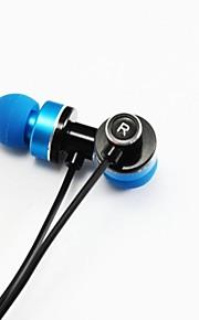 Qianjiatian®A400I Bass Metal Earphones With Wheat Suitable for Iphone4.5.6, PLUS and Other Models