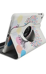 Specielt Design - 360⁰ Cases ( PU / Læder , Diverse Farve ) - Æble iPad mini/iPad mini 2/iPad Mini 3