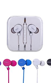 In-Ear Wired Earphones Can Selfie for Apple,Samsung, HTC Mobile Phones