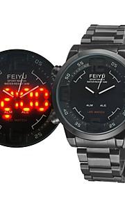 Relógio Militar (LED/Calendário/Resistente à Água/alarme) - Analógico-Digital - Quartz