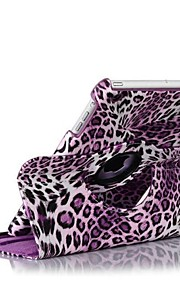 Leopard Pattern PU Leather Full Body Case with Stand for Ipad mini(Assorted Colors)