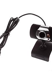 ウェブカメラ - 640 x 480 - 携帯式 - 内蔵マイク/HDビデオコーリング/柔軟性/スカイプ