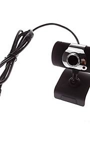 - Webcam 8.0 - 640 x 480 - Eingebauter Mikrofon/HD Videotelefonie/Flexibel/Skype - Tragbar