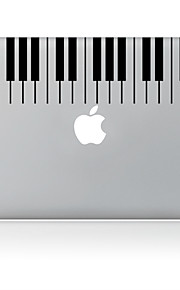 de piano ontwerp decoratieve huid sticker voor macbook air / pro / pro met retina-display