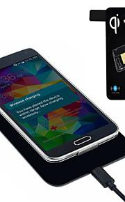 caricabatterie wireless standard qi + tag ricevitore per Samsung Galaxy S5 i9600 G900 calde